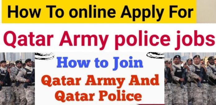 Qatar Police Jobs 2022, Qatar Government Jobs Apply official website Moi Qatar