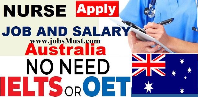 Nursing jobs in Australia Visa Sponsorship 2022 : overseas nurses vacancies in Australia